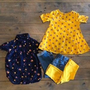 Bundle 12-18months girls clothes.